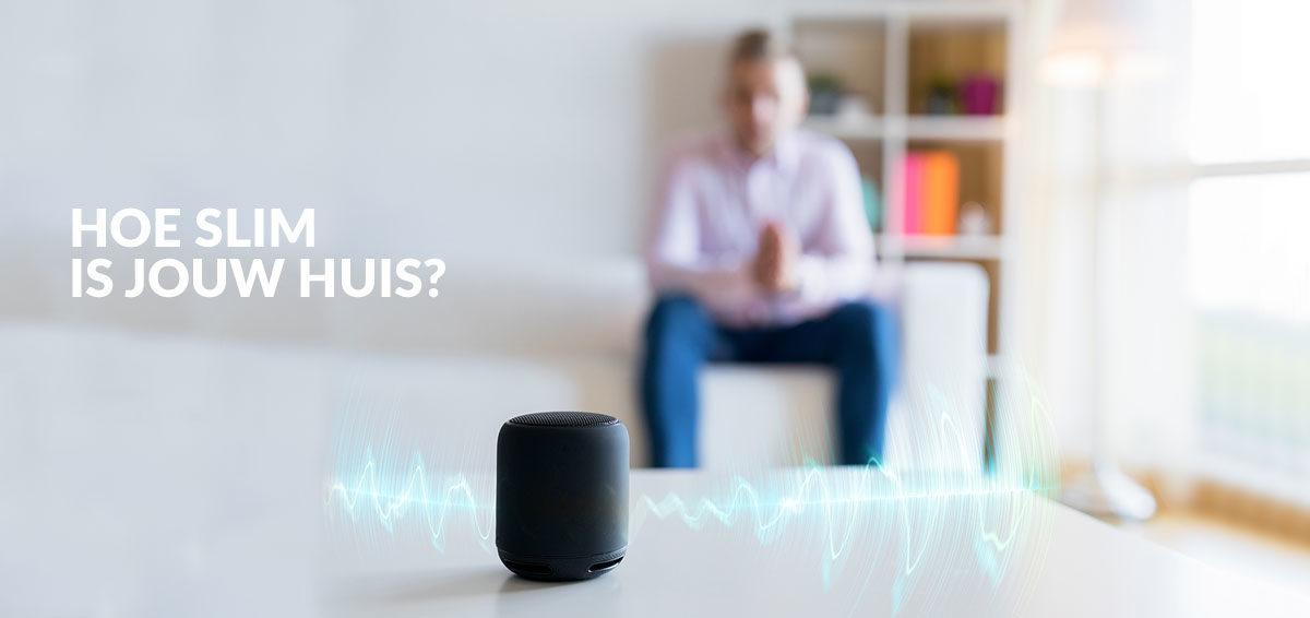 slimme speakers en slimme apparaten voor in je huis