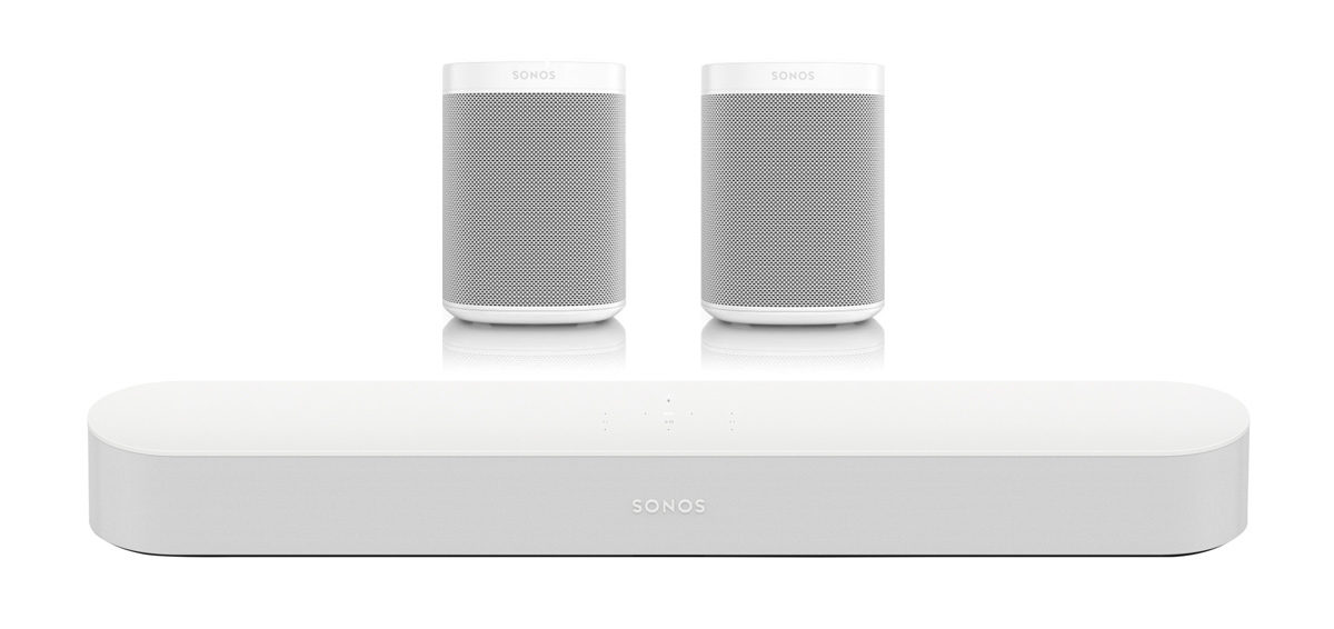 Sonos beam and one